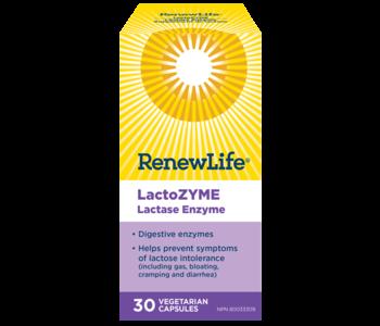 Renew Life Lactozyme 30 caps
