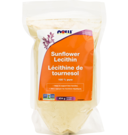 NOW NOW Sunflower Lecithin 100% Pure 454g