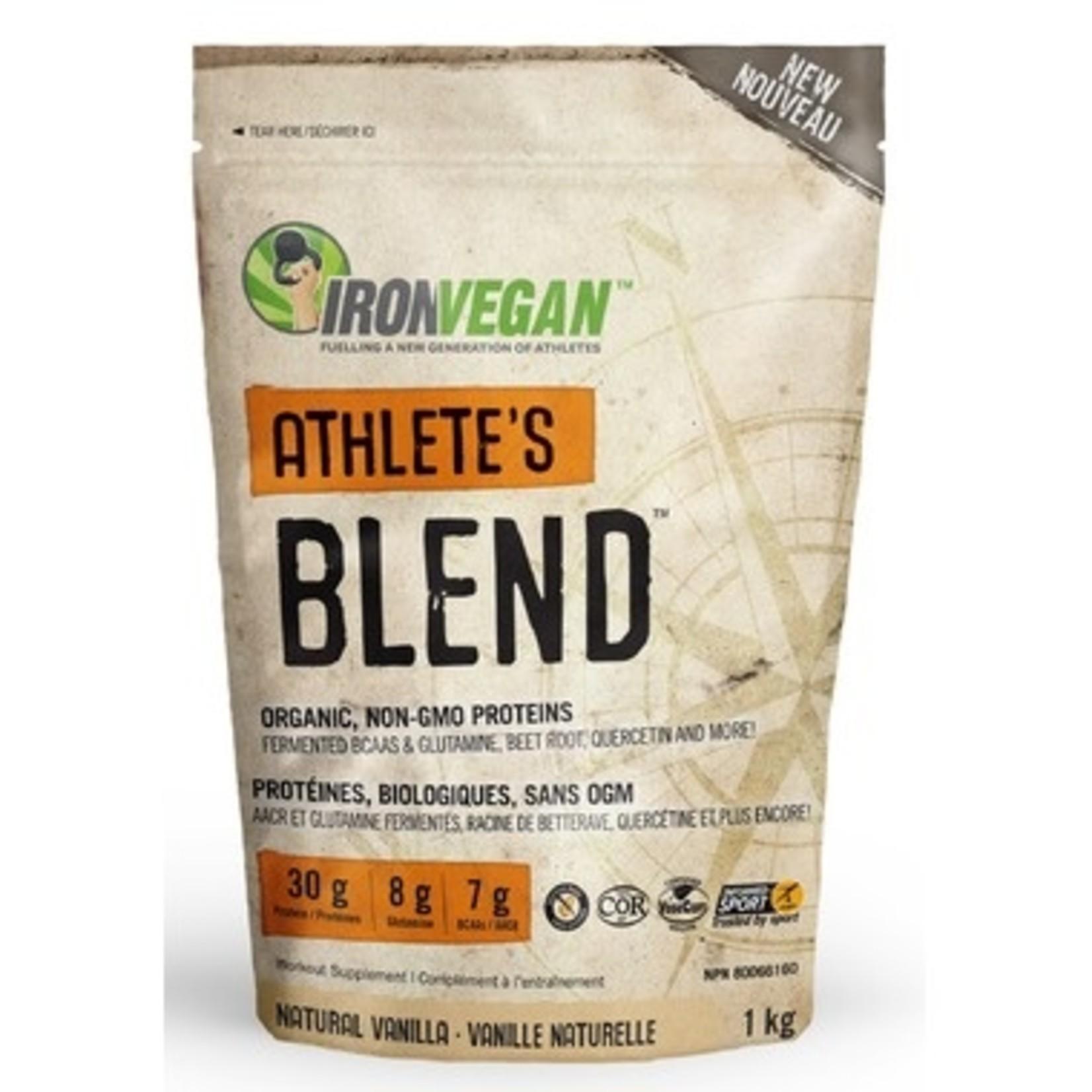 Iron Vegan Iron Vegan Athlete's Blend Natural Vanilla 1kg