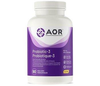 AOR Probiotic-3 90 vcaps