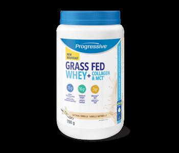 Progressive Grass Fed Whey Collagen and MCT 700g- Natural Vanilla