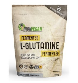 Iron Vegan Iron Vegan Fermented L-Glutamine Powder Unflavoured 400g