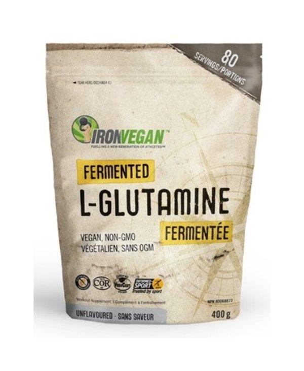 Iron Vegan Fermented L-Glutamine Powder Unflavoured 400g