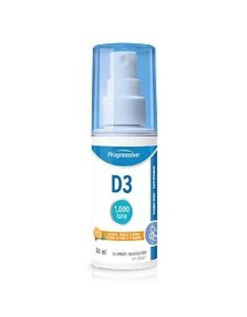 Progressive Progressive D3 1000IU Spray 58ml