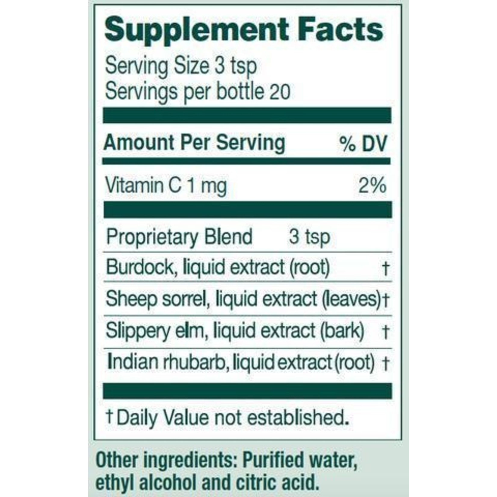 Essiac Herbal Extract 300ml