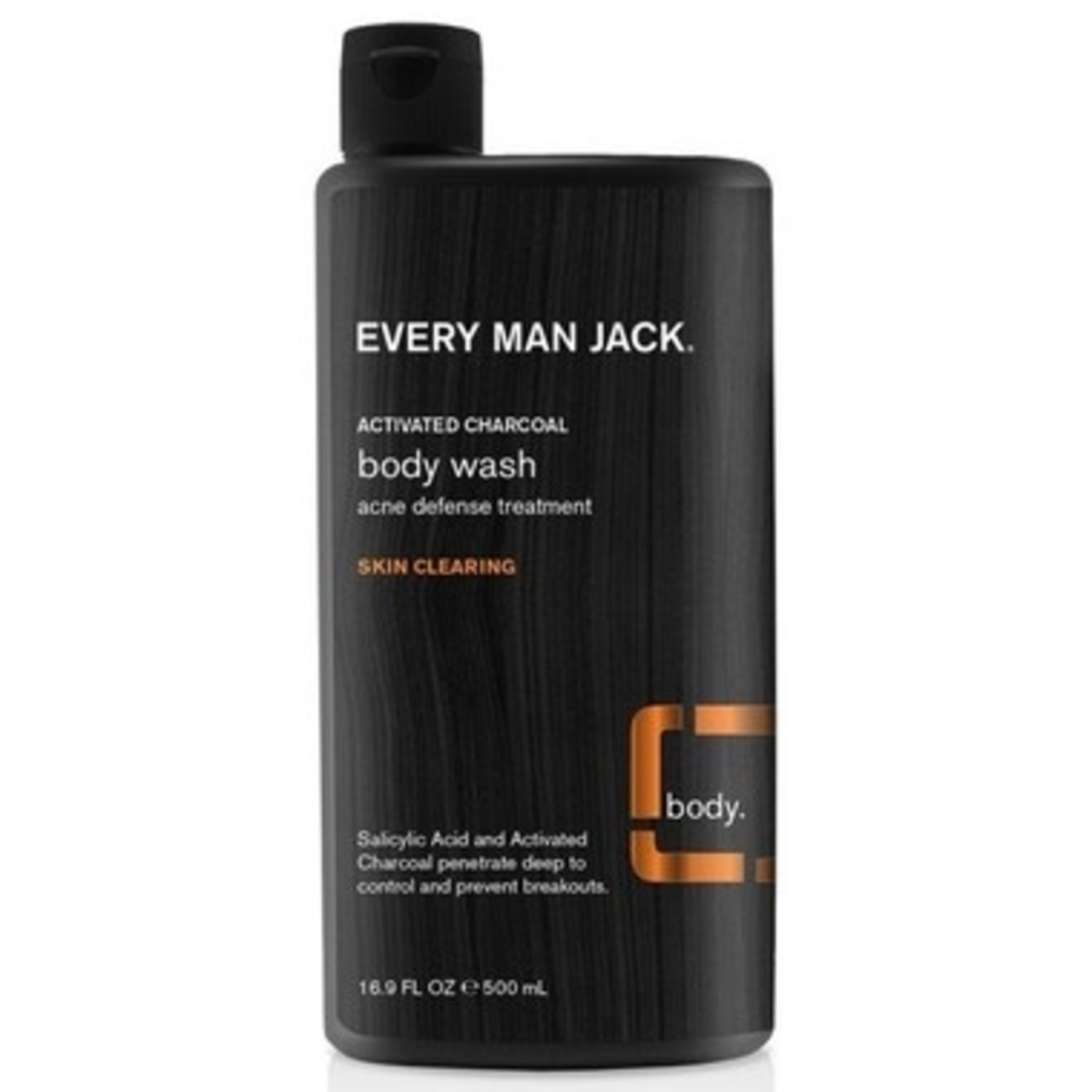 Every Man Jack Every Man Jack Body Wash Activated Charcoal 500ml