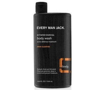 Every Man Jack Body Wash Activated Charcoal 500ml