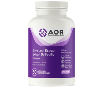 AOR Olive Leaf Extract 400mg 60 caps