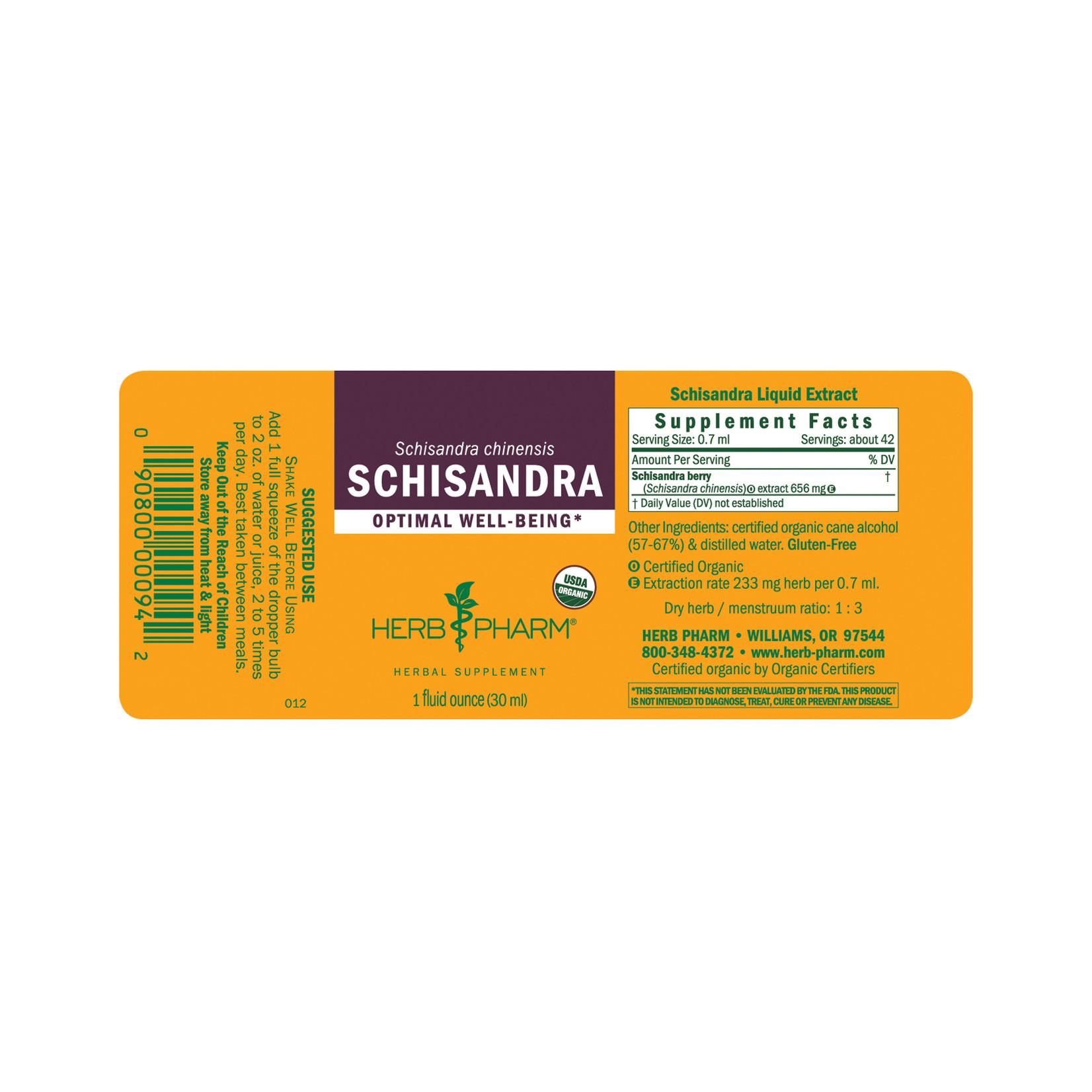 Herb Pharm Schisandra 120ml