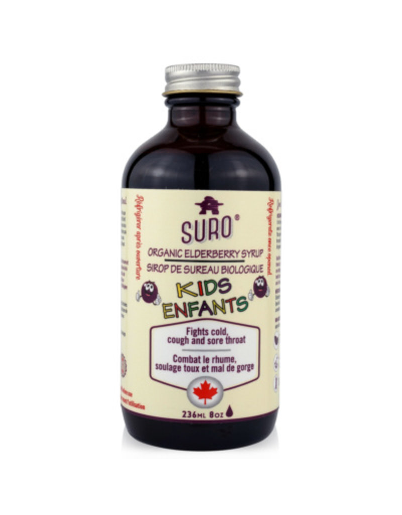 Suro Elderberry Syrup for Kids 118ml