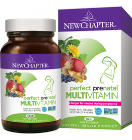 New Chapter Perfect Prenatal Multivitamin 96 tabs
