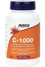 NOW NOW Vitamin C-1000 With Rose Hips and Bioflavanoids 100 tabs