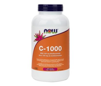 NOW C-1000 with Bioflavonoids 250vcap
