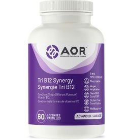 AOR Tri B12 Synergy 5mg 60 lozenges