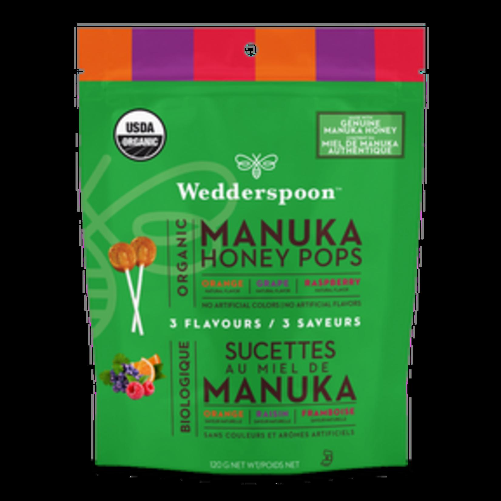 Manuka Honey Pops Organic- 3 flavours