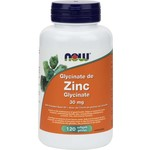 NOW Zinc Glycinate 30mg 120 softgels