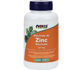 Zinc Glycinate 30mg 120 softgels