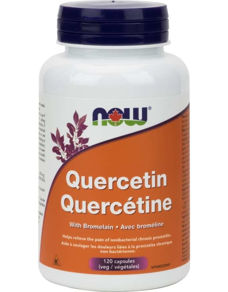 NOW Quercetin 400mg with Bromelain 120 caps