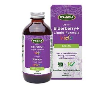 Organic Elderberry Liquid Formula Kids 250ml
