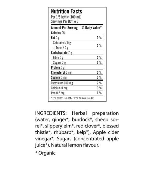 Apple Cider Vinegar Ginger & Lemon Wellness Drink 500ml