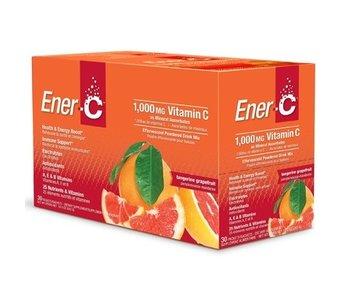 Ener-C Vitamin C Tangerine Grapefruit 1000mg- 30 packets