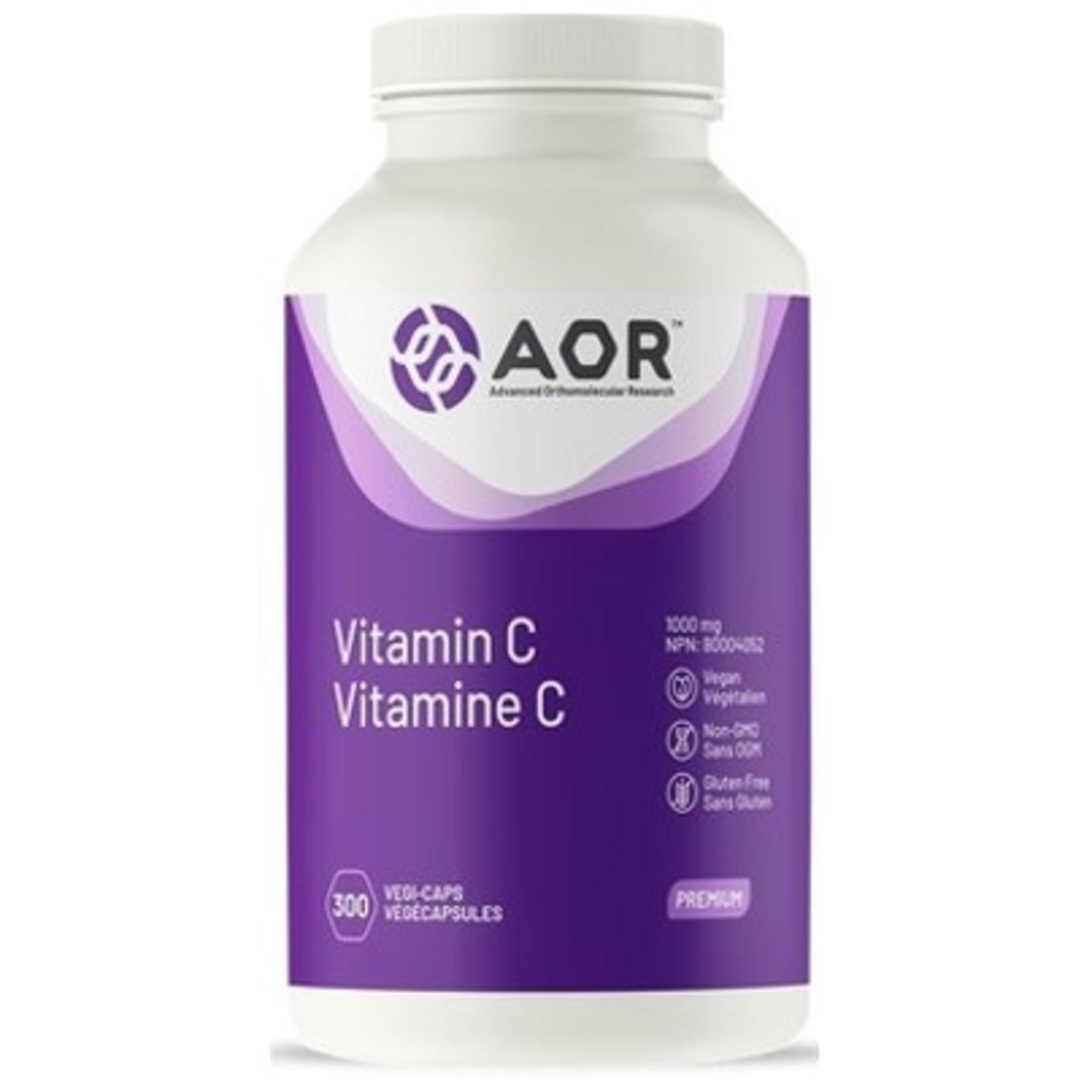 AOR AOR Vitamin C 1000mg - 300 caps