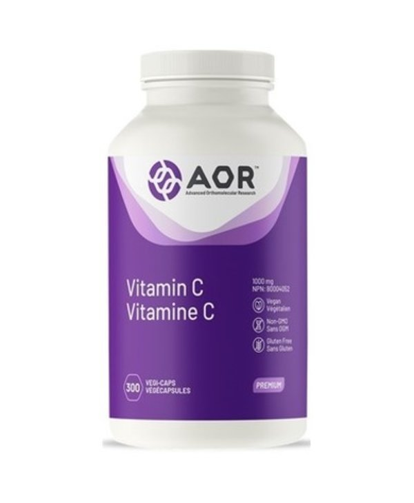 AOR Vitamin C 1000mg - 300 caps