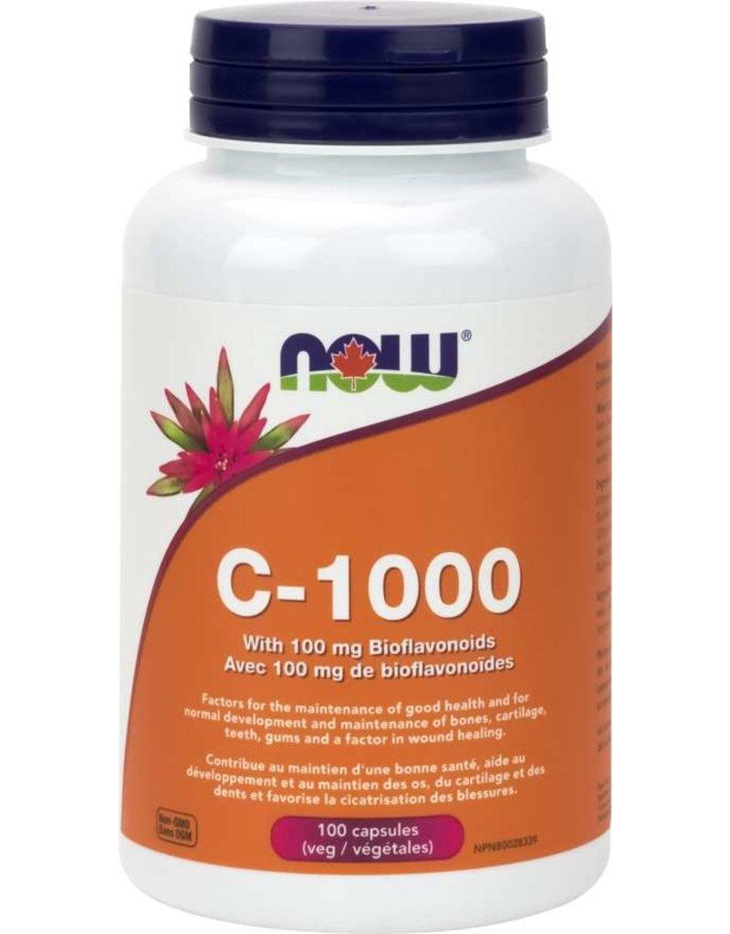 NOW NOW C-1000 with Bioflavanoids 100 caps