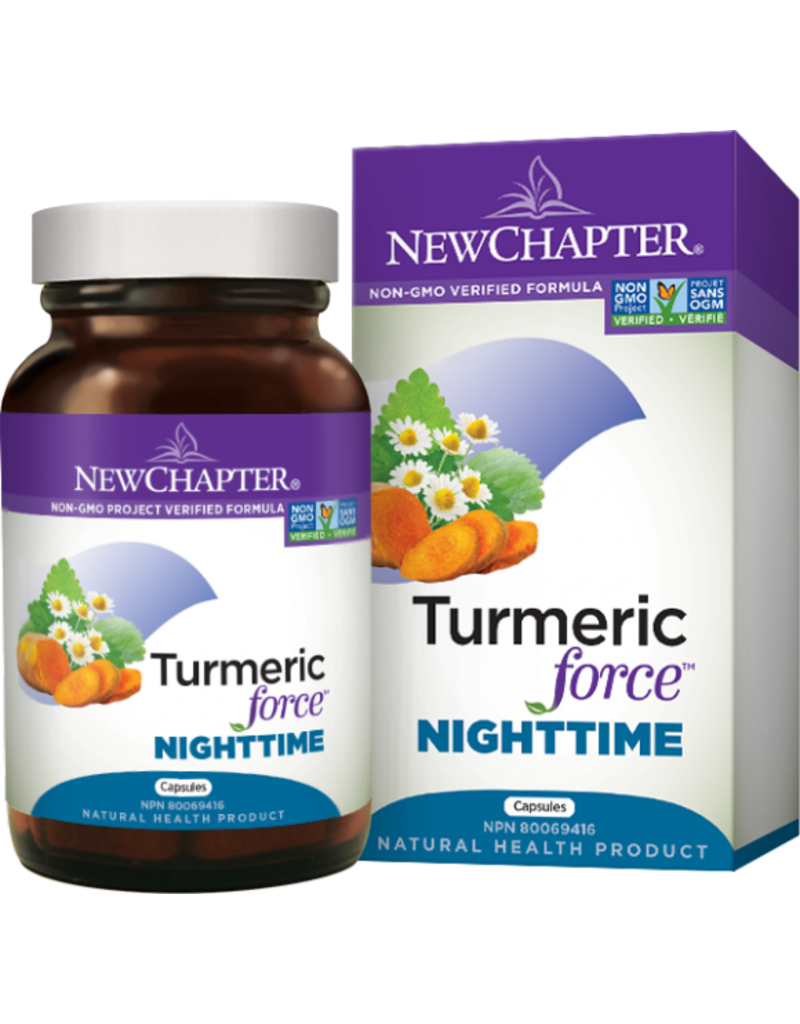 New Chapter Turmeric Force Nighttime 48 caps