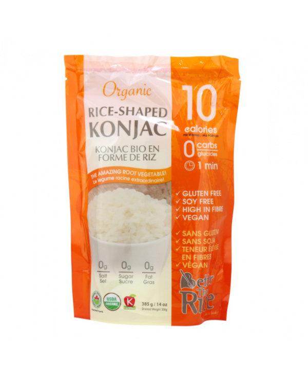 Organic Konjac Noodle- Rice 14oz
