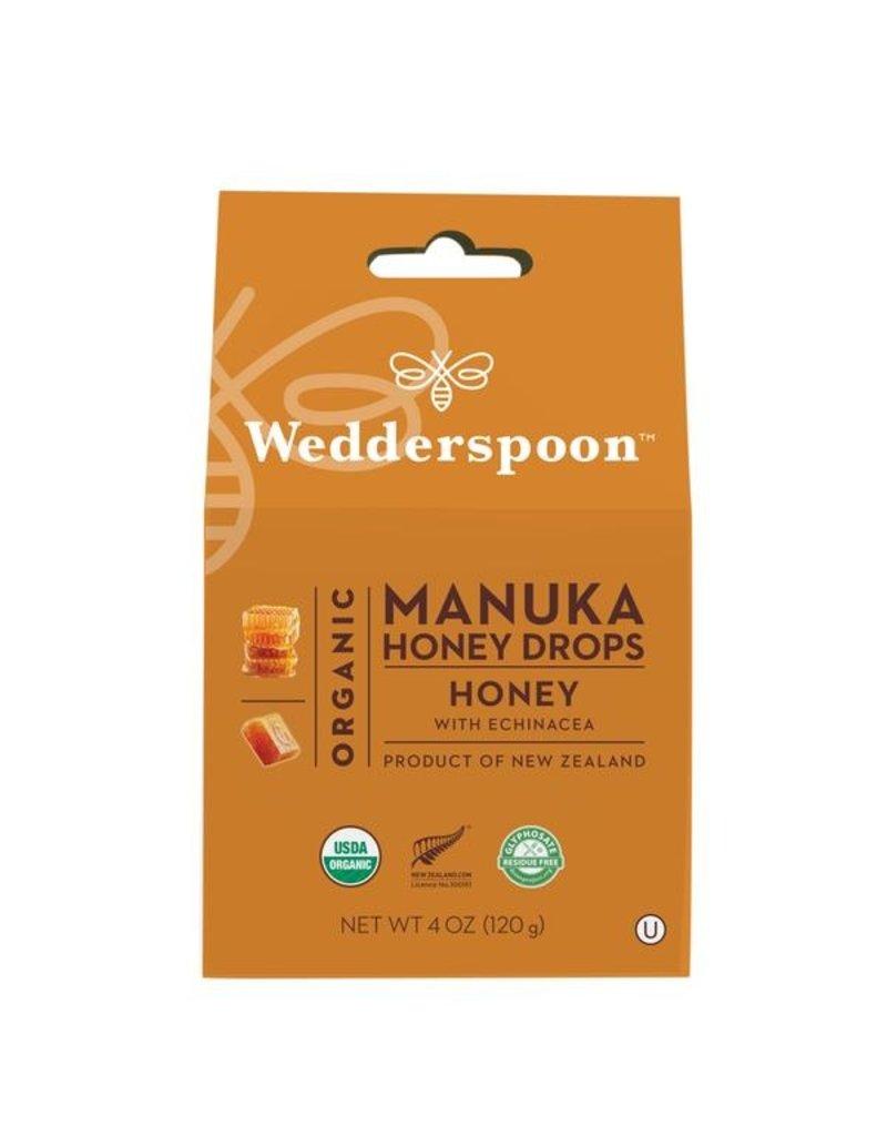 Wedderspoon Manuka Honey Drops - Honey with Echinacea 120g
