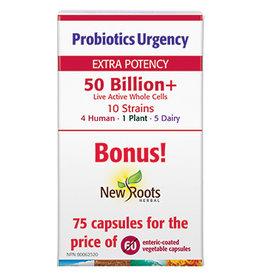New Roots New Roots Probiotics Urgency 50 billion Bonus 72 caps