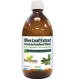 New Roots Olive Leaf Extract Peppermint Flavour 500ml