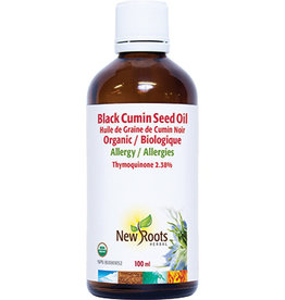 New Roots New Roots Black Cumin Seed Oil Organic 100ml