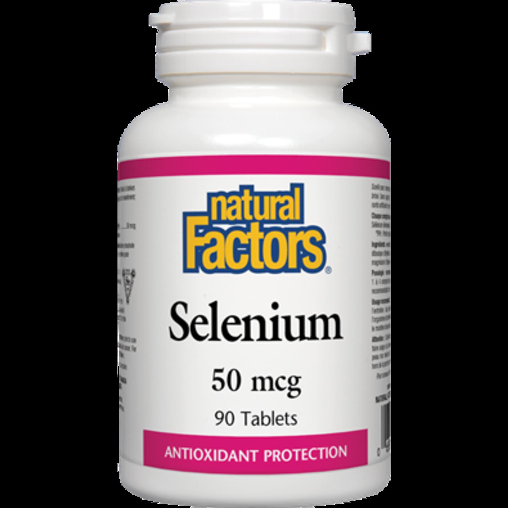 Natural Factors Natural Factors Selenium 50 mcg 90 tabs