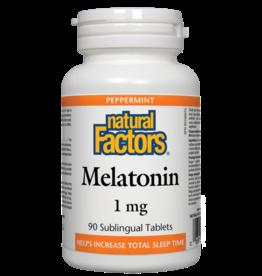 Natural Factors Natural Factors Melatonin 1mg 90 Sublingual Tablets