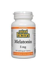 Natural Factors Natural Factors Melatonin 5mg 90 Sublingual Tablets