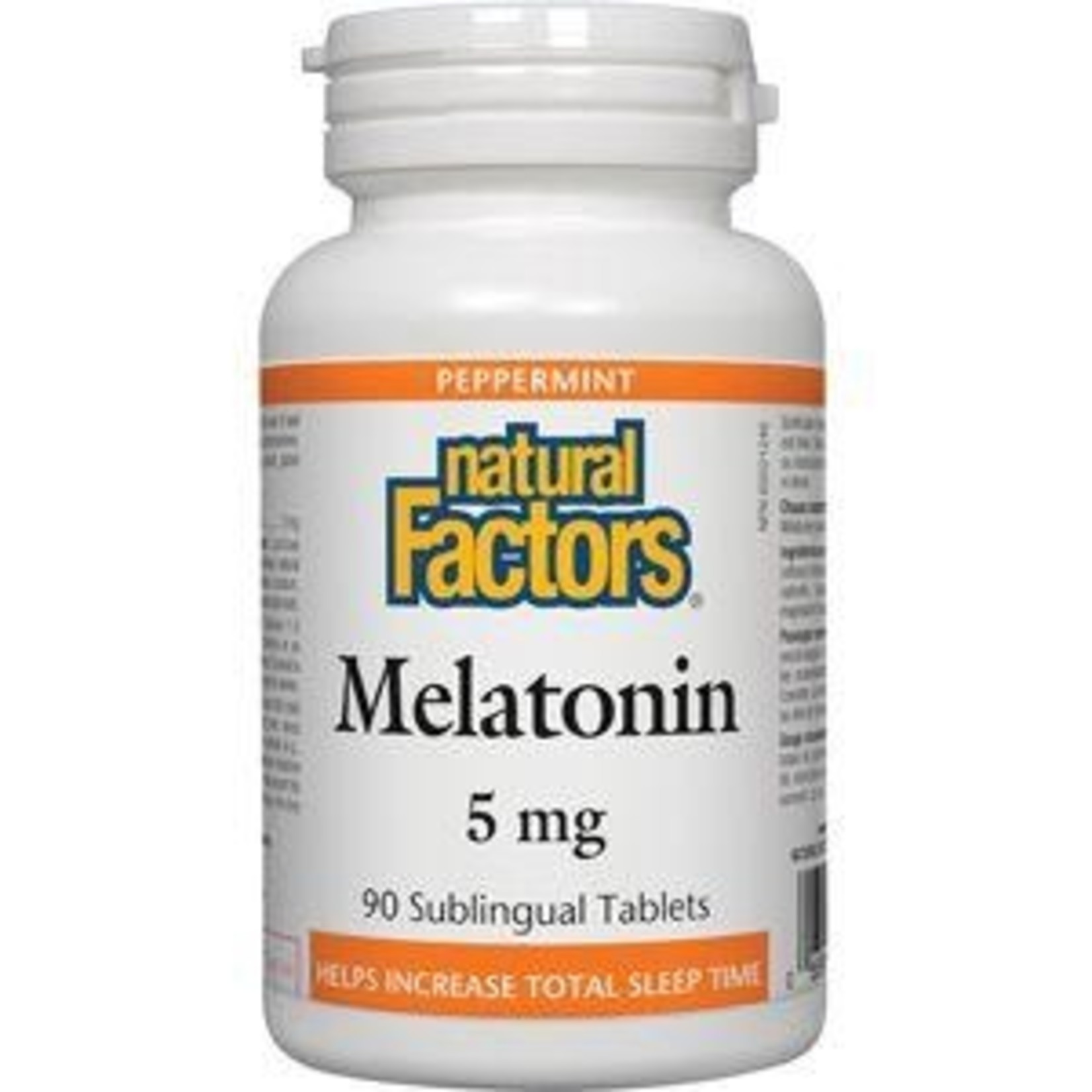 Natural Factors Natural Factors Melatonin 5mg 90 Sublingual Tablets