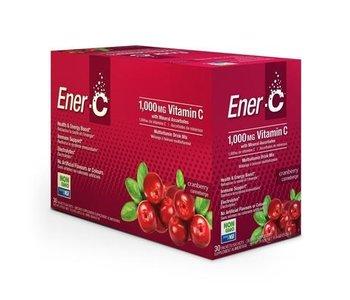 Ener-C Vitamin C 1000mg- Cranberry 30 packets