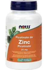 NOW NOW Zinc Picolinte 25 mg 100 caps