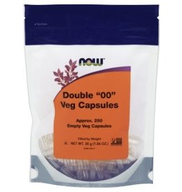 NOW NOW Double 00 Empty Vegetable Capsule- 250