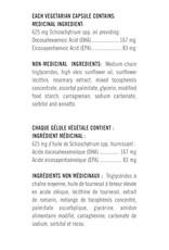Flora Flora Omega Brain+ Vegan Algae EPA and DHA 60 caps