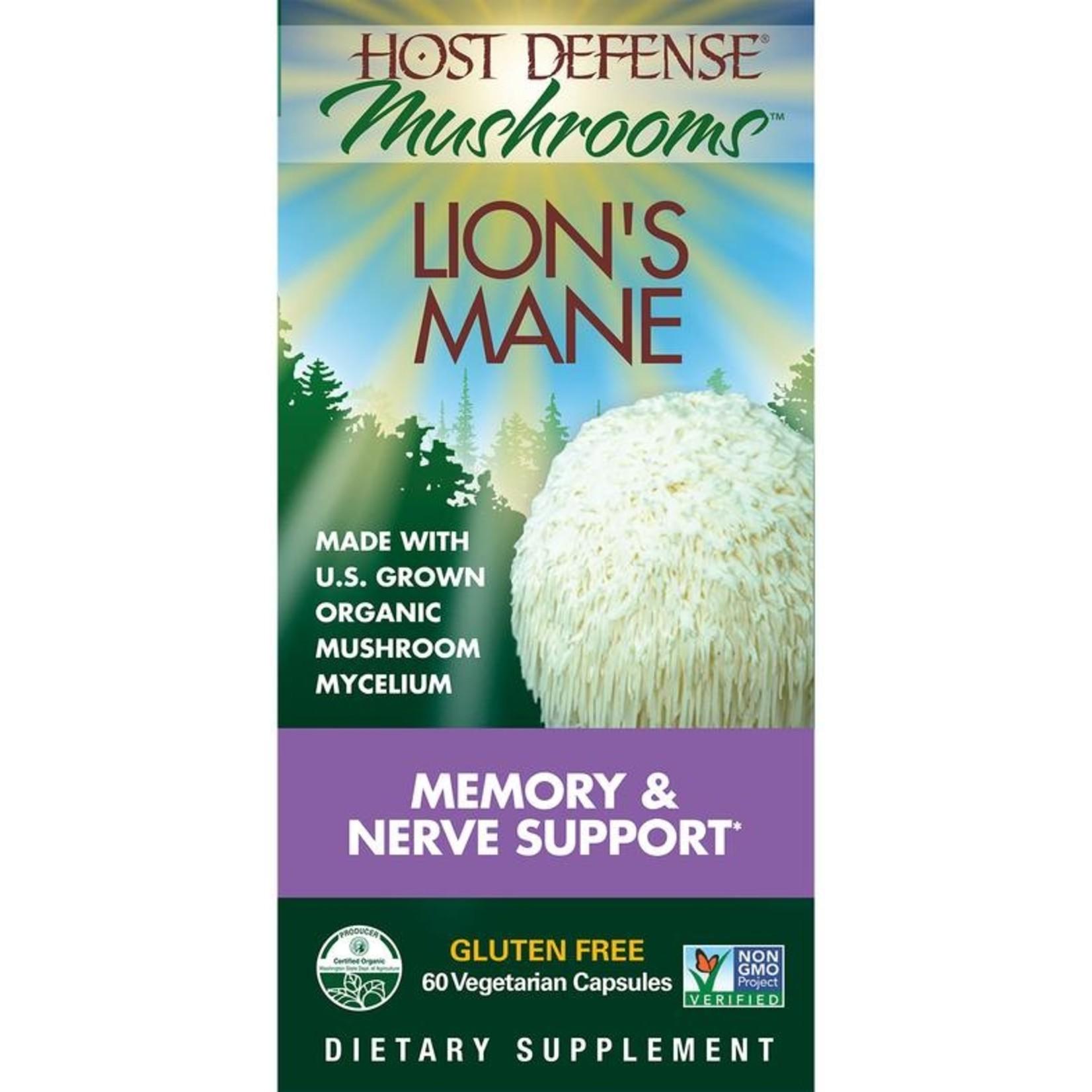 Host Defense Host Defense Lion's Mane 60 caps