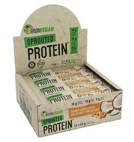 Iron Vegan Iron Vegan Protein Bar Coconut Cashew Cluster Box of 12