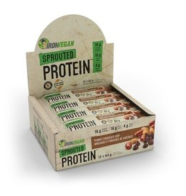 Iron Vegan Iron Vegan Protein Bar - Peanut Chocolate Chip Box of 12