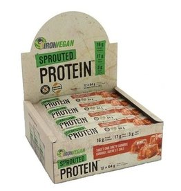 Iron Vegan Iron Vegan Protein Bar Sweet and Salty Caramel box of 12
