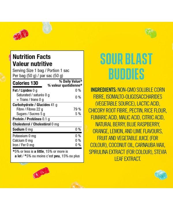 Smart Sweets Sour Blast Buddies 50g
