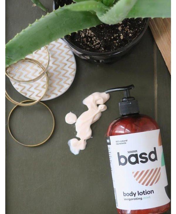BASD Invigorating Mint Body Lotion 450ml