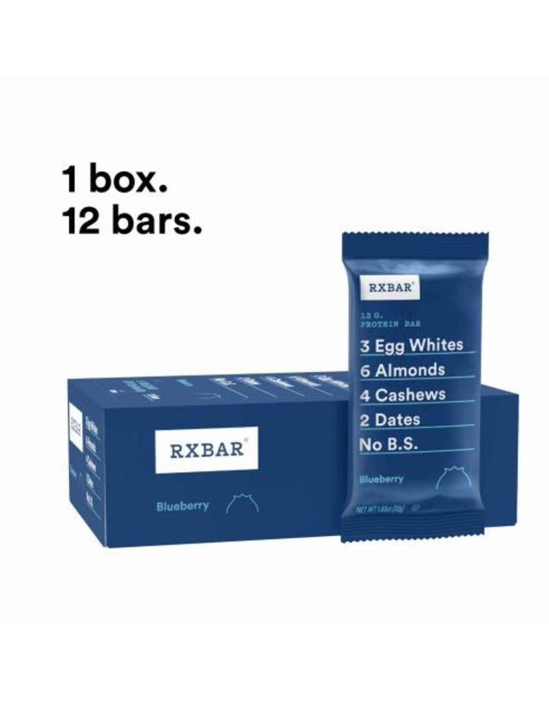 Rx Bar Rx Protein Bar Blueberry Box of 12