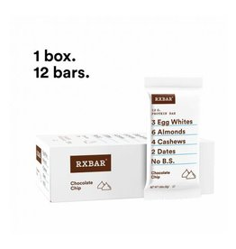 Rx Bar Rx Protein Bar Chocolate Chip Box of 12